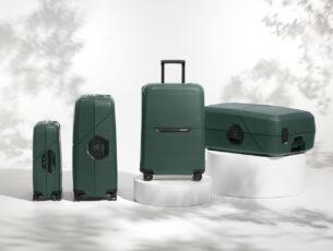 Nieuwe collectie koffers uit gerecycleerde kunststoffen